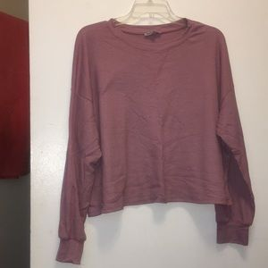 Cropped Long Sleeve Thermal